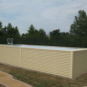 Rivestimenti in legno per piscina fuoriterra piscine da for Rivestimenti in legno verticali