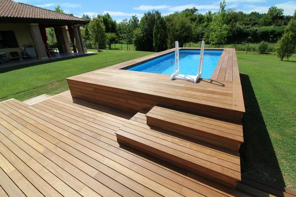 Una piscina fuoriterra personalizzata aumenta il valore della tua abitazione piscine da - Piscine interne in casa ...