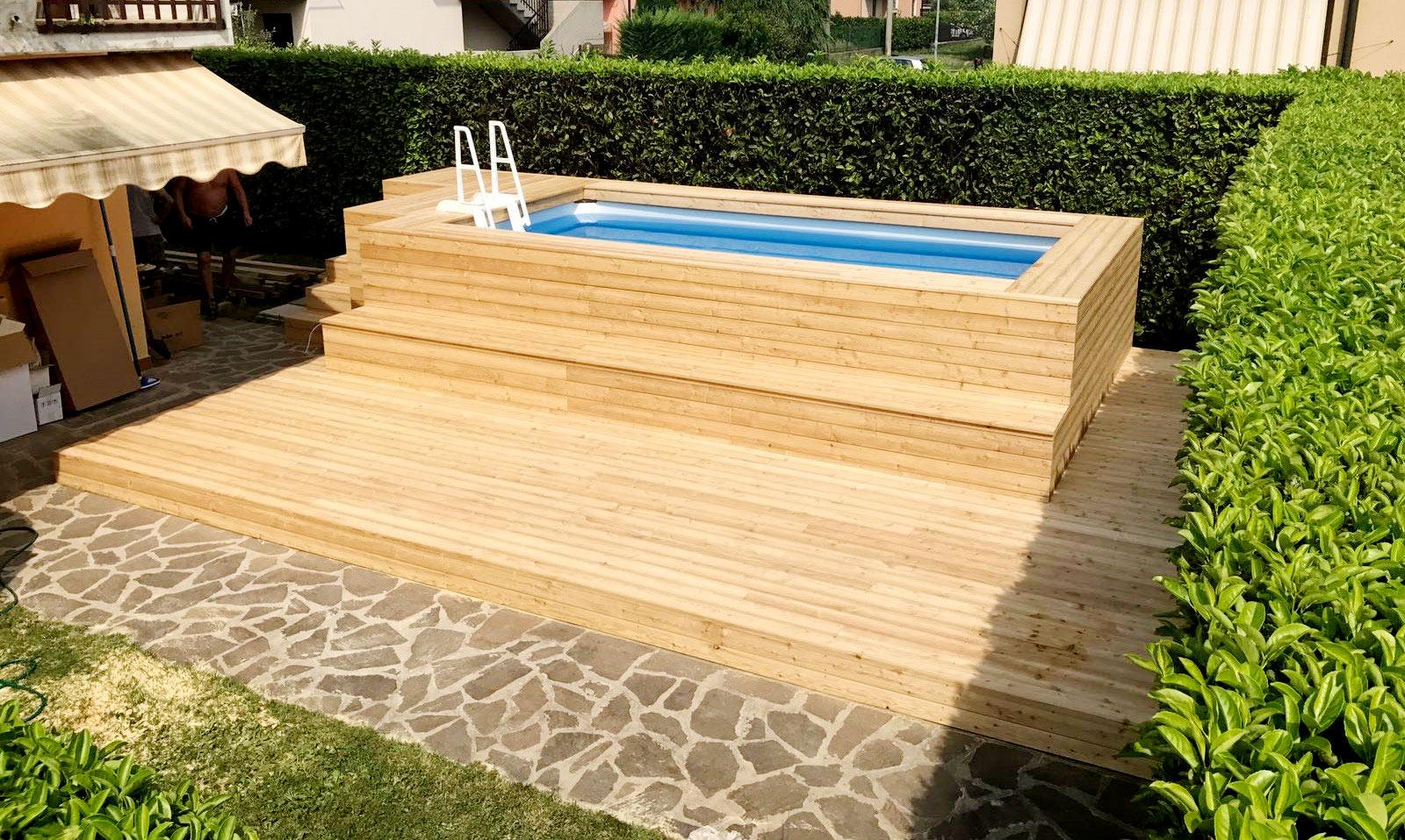 Piscine Da Esterno Rivestite In Legno piscine fuoriterra | piscine, da terrazzo e giardino