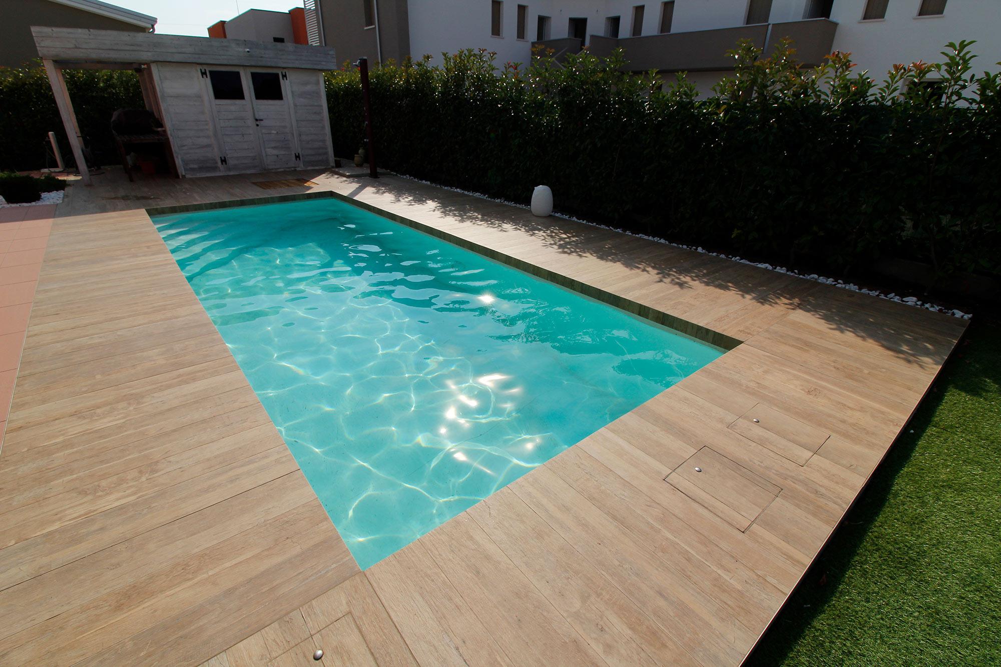 Piscine interrate da giardino piscine da terrazzo e for Piscine per giardino