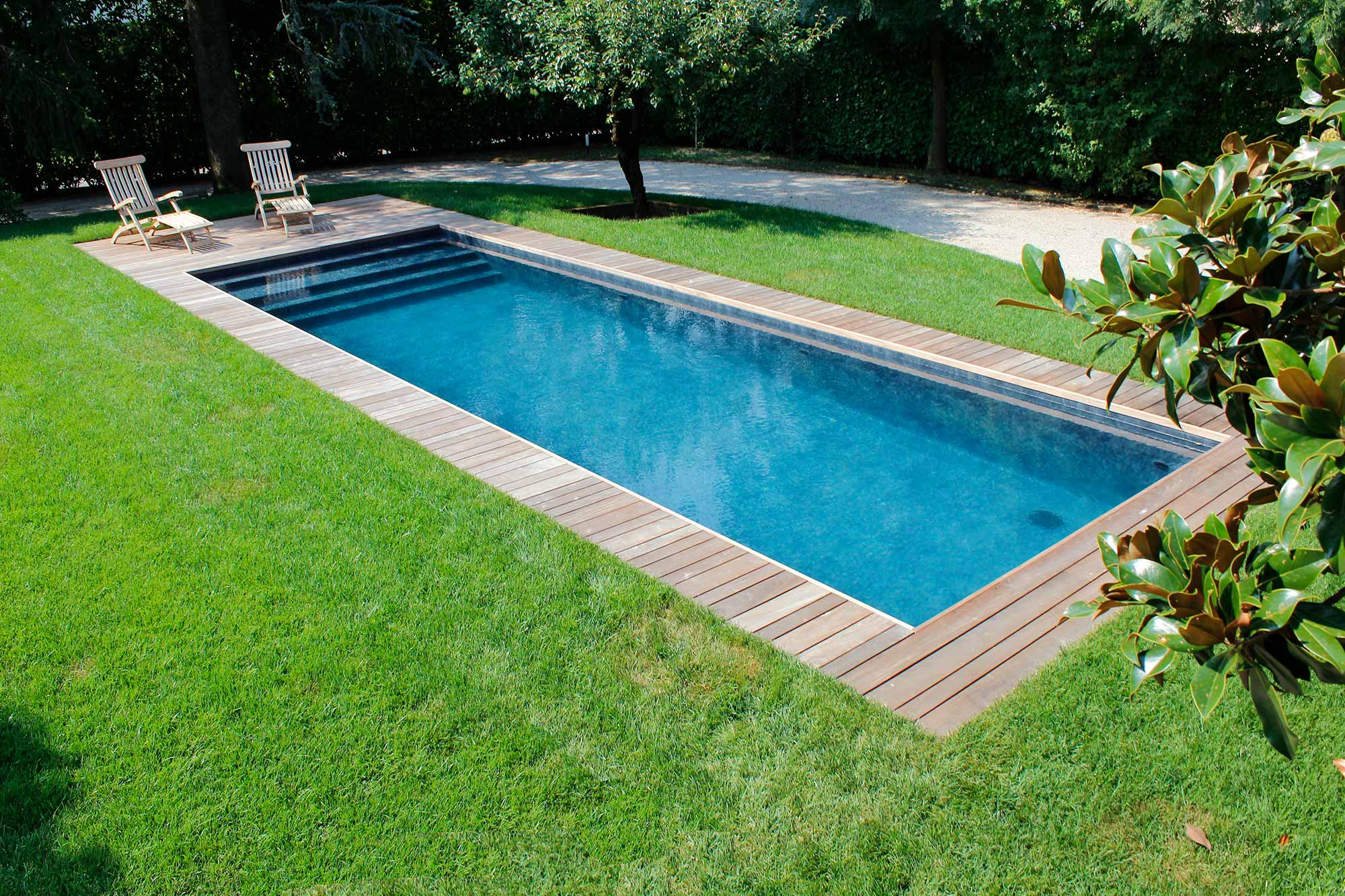 Acqua Azzurra Piscine piscine interrate da giardino | piscine, da terrazzo e